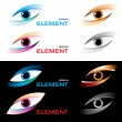 Logo eye. — Image vectorielle