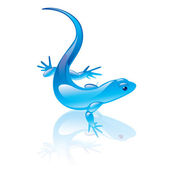Reptile symbol — Stock Vector