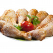 chicken legs — Stock Photo