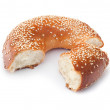 Freshly Baked Bagel — Stock Photo