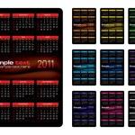 Calendar 2011 — Stock Vector #3862141