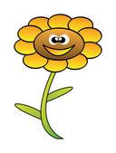 Flor feliz vetor — Foto Stock