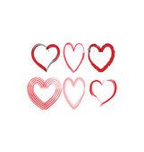 Harten — Stockvector