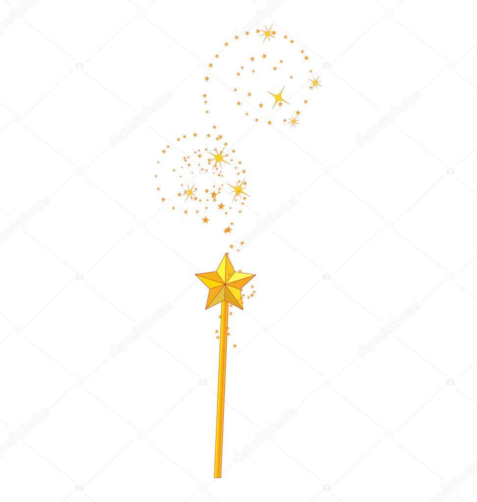 Как сделать волшебную палочку мультик