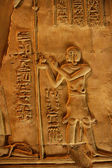 The Egyptian bas-reliefs — Stock Photo