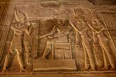 египетский барельеф — Стоковое фото