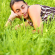 Young woman resting — Stock Photo #3131942