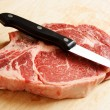 Ribeye steak — Stock Photo #3721346