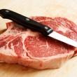 Ribeye steak — Stock Photo