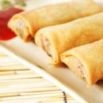 Egg rolls — Stock Photo