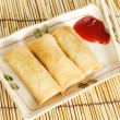 Stock Photo: Egg rolls