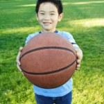 Sporty boy — Stock Photo