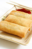 Egg rolls — Stock Photo