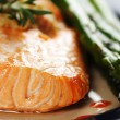 Baked salmon — Stock Photo #3734524