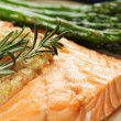 Baked salmon — Stock Photo #3734560