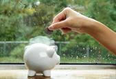 Geld sparen — Stockfoto