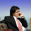Businessman on the phone — Stockfoto