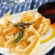 Royalty-Free Stock Photo: Fried chinese dumplings