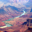 Grand canyon and colorado river — Stock Photo