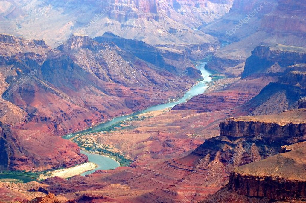 Grand canyon and colorado river — ストック写真 #3179916