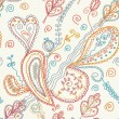 Royalty-Free Stock Vectorielle: Paisley seamless pattern