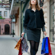 Young woman with shopping bags — Stock Photo #2773397