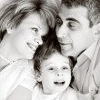 Stock Photo: Happy family - father, mother and son