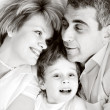 Happy family - father, mother and son — Stock Photo #2831627