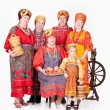 Stock Photo: WomIn RussiTraditional Clothing