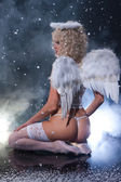 Blondie Angel — Stock Photo