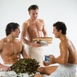 Men After The Bath — Stock Photo #2983699