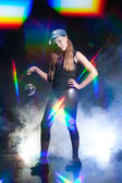 Disko dansçısı — Stok fotoğraf
