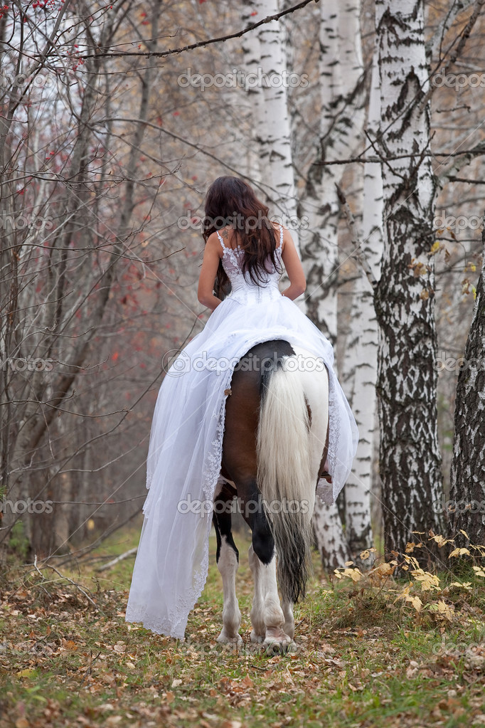 the mating of horses and woman | just b.CAUSE