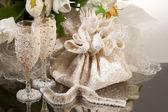 Accesorios de la boda — Foto de Stock