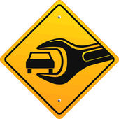 Auto hilfe — Vecteur