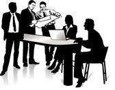 Meeting — Stock Vector