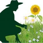 Gardener — Stock Vector #2918324