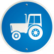 Tractor clear — Vector de stock #2919047