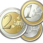 2-parts euro — Stock Vector #2919201