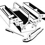 strumenti — Vettoriale Stock