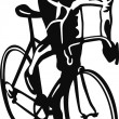 Royalty-Free Stock Imagen vectorial: Bicyclist