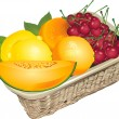 Vector de stock : Fruits