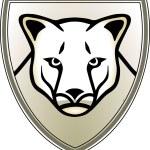 美洲狮 — 图库矢量图片
