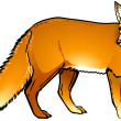 Stock Vector: Fox