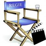 Chair, film regie — Stock Vector #2934475