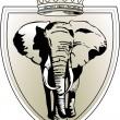 Sloní koruna — Stock vektor