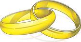 Rings — Stock Vector