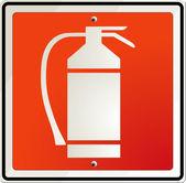 Fire extinguisher — Stock Vector
