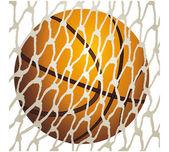 Basketball Basket — Stock Vector