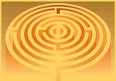 Labyrinth — Stockvektor